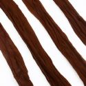 Single colour Specially dyed nylon, Nylon, brown, Stretched Size per piece 1.5m x 15cm, 4 pieces, [SWW0782]